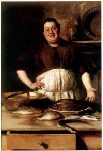 cuoco e servitori