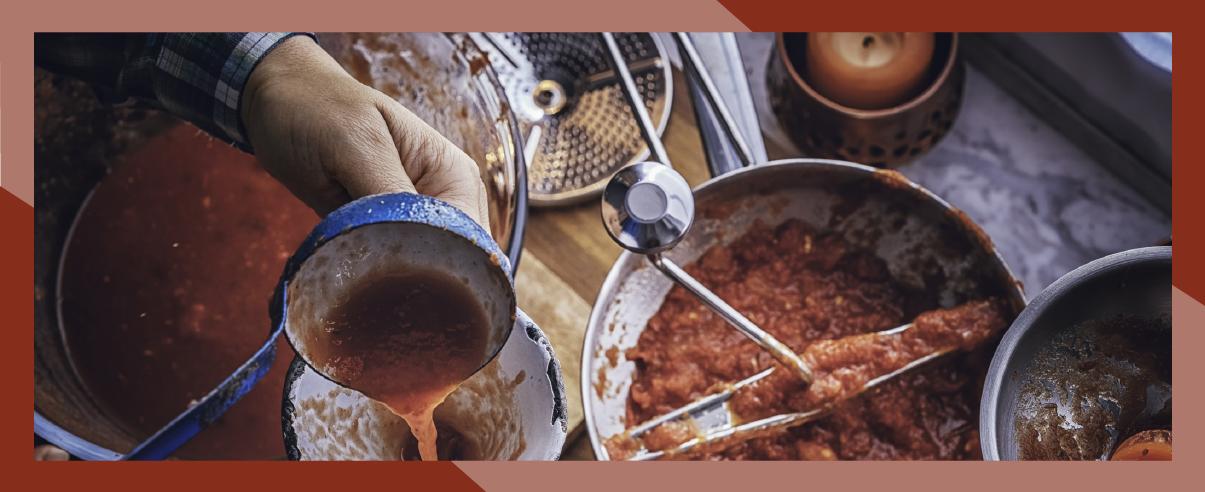 Conserva di pomodoro fatta in casa, una tradizione bacolese! - ilMaialone