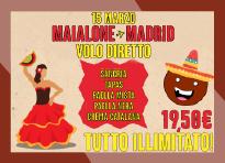 Serata spagnola 15 marzo