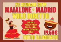 Una serata Spagnola... ilMaialone vola a Madrid!
