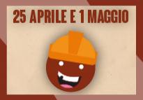 Il 25 Aprile e il 1 Maggio... due date memorabili da festeggiare al Maialone!